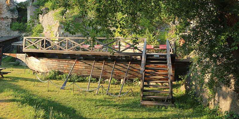 Dřevěná galéra